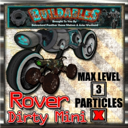 Display crate Rover 4x4 Dirty Mini