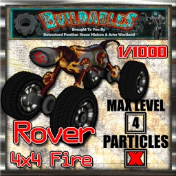Display crate Rover 4x4 Fire 1of1000