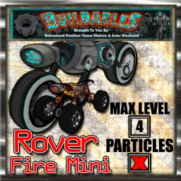Display crate Rover 4x4 Fire Mini