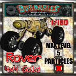 Display crate Rover 4x4 Gold 1of100
