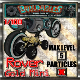 Display crate Rover 4x4 Gold Mini 1of100