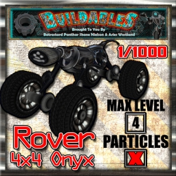 Display crate Rover 4x4 Onyx 1of1000