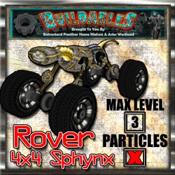 Display crate Rover 4x4 Sphynx