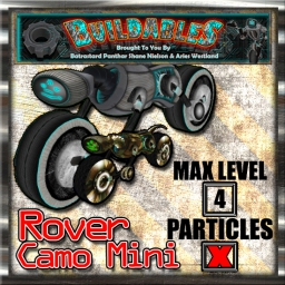 Display crate Rover Camo Mini