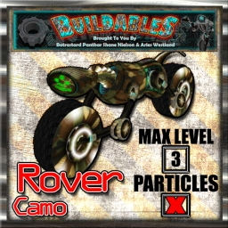 Display crate Rover Camo