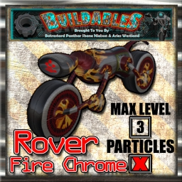Display crate Rover Fire Chrome