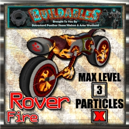 Display crate Rover Fire