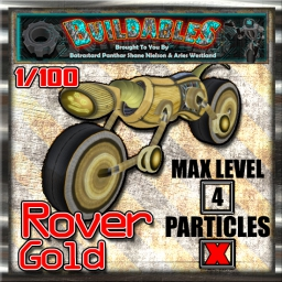 Display crate Rover Gold 1of100