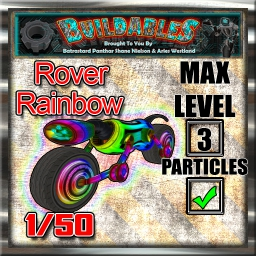 Display crate Rover Rainbow