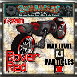 Display crate Rover Red 1of250