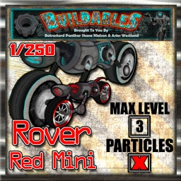 Display crate Rover Red Mini