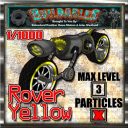 Display crate Rover Yellow 1of1000