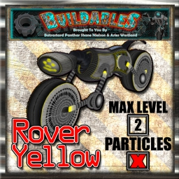 Display crate Rover Yellow