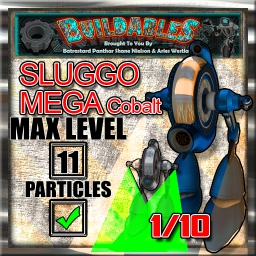 Display crate Sluggo Mega Cobalt