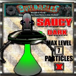 Display crate Saucy Dark
