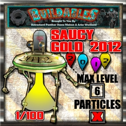 Display crate Saucy Gold 2012 1of100