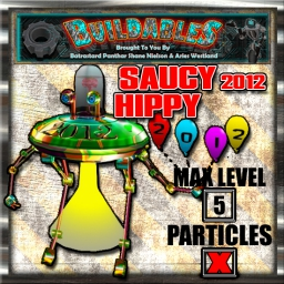 Display crate Saucy Hippy 2012