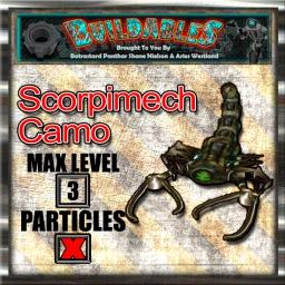 Display crate Scorpimech Camo