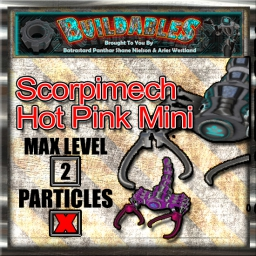 Display crate Scorpimech Hot Pink Mini