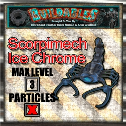 Display crate Scorpimech Ice Chrome