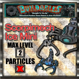 Display crate Scorpimech Ice Mini