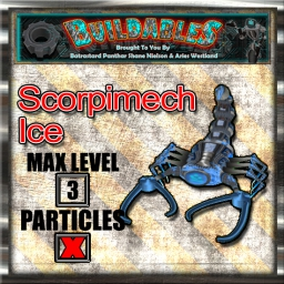Display crate Scorpimech Ice