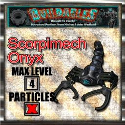 Display crate Scorpimech Onyx