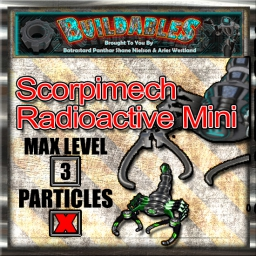 Display crate Scorpimech Radioactive Mini