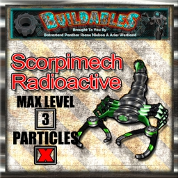Display crate Scorpimech Radioactive