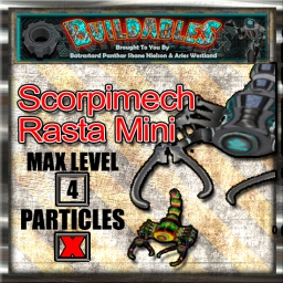 Display crate Scorpimech Rasta Mini