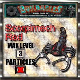 Display crate Scorpimech Red