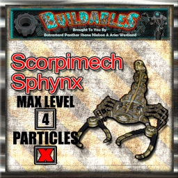 Display crate Scorpimech Sphynx