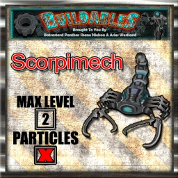 Display crate Scorpimech