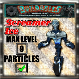 Display crate Screamer Ice