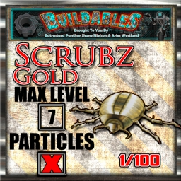 Display crate Scrubz Gold 1of100