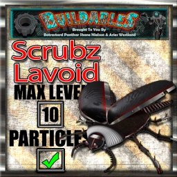 Display crate Scrubz Lavoid