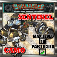 Display crate Sentinel Camo