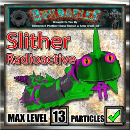 Display crate Slither Radioactive