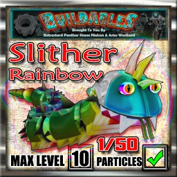Display crate Slither Rainbow