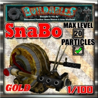 Display crate SnaBo Gold
