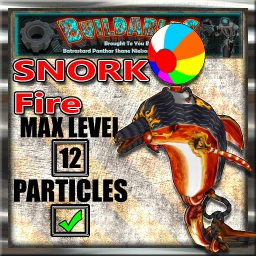 Display crate Snork Fire