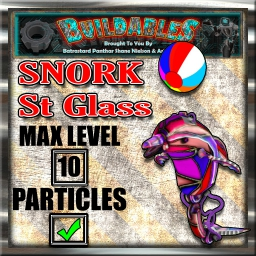 Display crate Snork St Glass