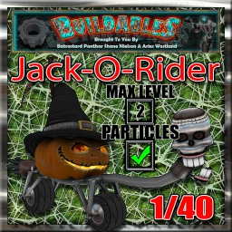 Display crate Jack-O-Rider