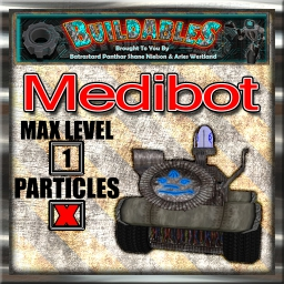 Display crate Medibot