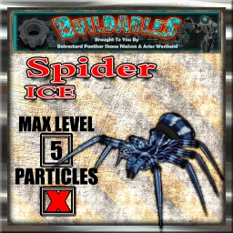 Display crate Spider Ice