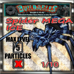 Display crate Spider Mega ice 1of10
