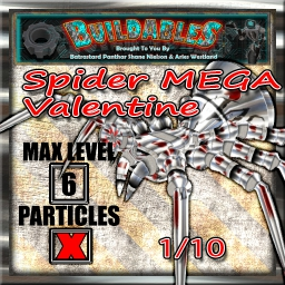 Display crate Spider Mega valentine 1of10