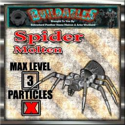 Display crate Spider Molten