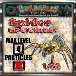 Display crate Spider Spooked 1of20