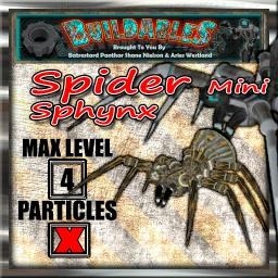 Display crate Spider mini sphynx